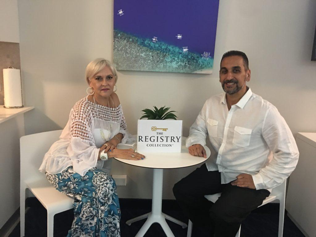 Wanda y Eric en ESJAzul Hotel
